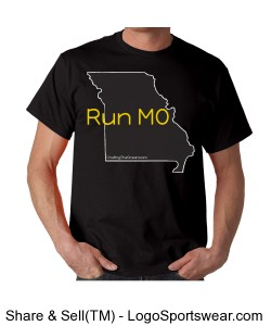 Run MO, Econscious Mens Value Ringspun 100% Organic Cotton T-Shirt Design Zoom