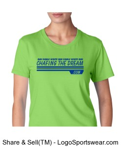 Run-Drink-Write Women's SS tee Design Zoom