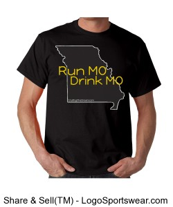 Run MO, Drink MO, Econscious Mens Value Ringspun 100% Organic Cotton T-Shirt Design Zoom